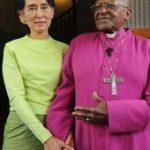 Uskup Desmon Tutu Kecam Suu Kyi : Sikap Diam Anda Menambah Kepedihan