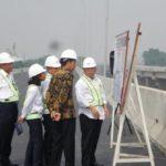 Presiden Jokowi Resmikan Jalan Tol Becakayu,Setelah Mangkrak 22 Tahun