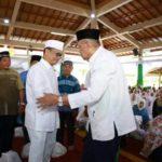 Gubernur Kaltara Lepas Pengurus Masjid,  Ulama, Guru Ngaji dan Juara MTQ.