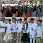 HUT ke 10, DPC Partai Gerindra Payakumbuh Gelar Tabligh Akbar