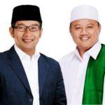 Ridwan Kamil - Uu Ruzhanul Ulum Menang di Real Count PKS