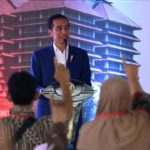 Presiden Jokowi Hadiri Rapat Ikatan Wanita Pengusaha