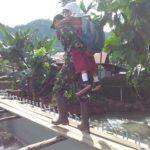 Padang Pasca Banjir, Korem 032/Wbr Laksanakan Bakti Prajurit