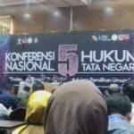 Konferensi Nasional V Hukum Tata Negara Dilangsungkan di Batusangkar