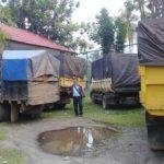 Dishut Kalteng Amankan Lima Truk Kayu Ilegal