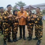 Brigade Hanura Lakukan Diklatsar di Banten