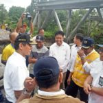 Jembatan Sementara Segera Dibangun di Jembatan Putus di Jalan Padang-Bukittinggi