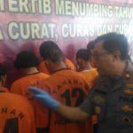 12 Hari Operasi, 43 Penjahat Digulung Polda Babel