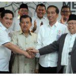 Erick Thohir : Elektabilitas Jokowi Stagnan karena Ma'ruf Amin Belum Bergerak