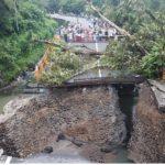 Ini Kondisi Terakhir Jembatan Rusak, Jalur Padang-Bukittinggi Masih Putus