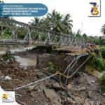 KemenPUPR: Sabtu Besok, Jembatan Sementara Jalan Putus Padang-Bukittinggi Bisa Dilewati