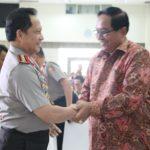 Peluncuran dan Bedah Buku Karya Prof Dr Awaloedin Jamin Dihadiri Kapolri