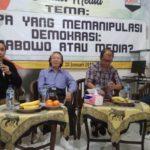 Jerry Massie: Berdemokrasi, Hindari Menyalahkan Media