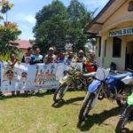 Millenial Road Safety Festifal, Polsek Serteng Nongkrong Bareng Club Motor Trail