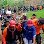 Update Longsor Sukabumi, 18 Tewas, 15 Hilang