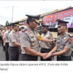 Berprestasi Dalam Tugas, 7 Anggota Polda Papua Dapat Kenaikan Pangkat Luar Biasa