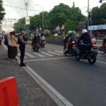 Ditsamapta Polda Banten Rutin Atur Lalu Lintas Pagi Hari