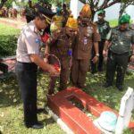 HUT LVRI ke 62, Dirbinmas Polda Banten Hadiri Ziarah Bersama di Makam Pahlawan