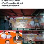 Donny Magek Piliang, Caleg Hanura DPRD Sumbar Bikin Heboh Bukittinggi