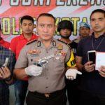 Tiga Anggota Komplotan Perampok Bersenjata Api, Dibekuk
