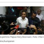 Setdaprov Papua Ditetapkan Sebagai Tersangka Kasus Penganiayaan Pegawai KPK