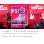 Litbang Kompas: PSI Partai Baru Paling Ditolak Masyarakat