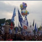 Ada Lautan Manusia Hadiri Kampanye Prabowo di Lombok