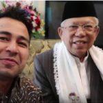 Bertemu Ma'ruf Amin, Raffi Ahmad Dapat Ilmu Dunia Akhirat