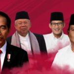 Survei CSIS, Jokowi-Ma'ruf 51,4 %, Prabowo-Sandi 33,3 %