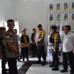 Kapolda Kalteng Cek Keamanan Logistik Pemilu 2019 di Kabupaten Pulpis