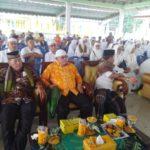 Sebelum Berangkat, Jemaah Calon Haji Tanjungbalai Lakukan Prosesi Tepung Tawar