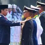 Hari Ini,  781 Perwira TNI - Polri Dilantik Presiden Jokowi