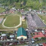 Umat Islam Padang Panjang Tumpah di GOR Bancah Laweh