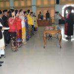 25 Anggota DPRD Gunung Mas Ikrarkan Sumpah dan Janji