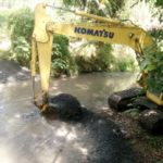 Pembuangan Limbah PTGC ke Sungai Tongop Minahasa, Resahkan Warga.