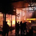 Pabrik Kue Semprong Di Selatpanjang Dilalap Si Jago Merah