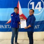 Dede Pasarela Jabat Plt Ketua DPC Partai Demokrat Solok Selatan