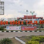 Bandara Tjilik Riwut Siapkan Alat Otomatis Pendeteksi Suhu badan.