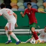 Ronaldo Gagal Cetal Gol, Portugal VS Spain Berakhir Imbang