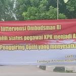 Tolak Intervensi Ombudsman Dalam Proses Seleksi Internal KPK