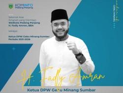Lagu Minangkabau Tanah Nan Den Cinto akan Iringi Pelantikan Fadly Amran